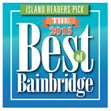 Winner of 2016 Best Chiropractor Bainbridge Island by readers of the Bainbridge Island Review