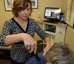 Dr. Lucia provides personalized chiropractic care to patients in North Kitsap.